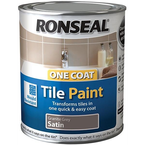 Ronseal Granite - One Coat Tile Paint - 750ml
