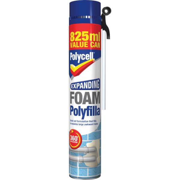 Polycell Expanding Foam 825ml
