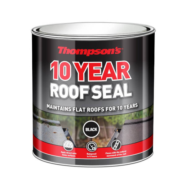 Thompsons 10 Year Roof Seal - Black - 2.5L