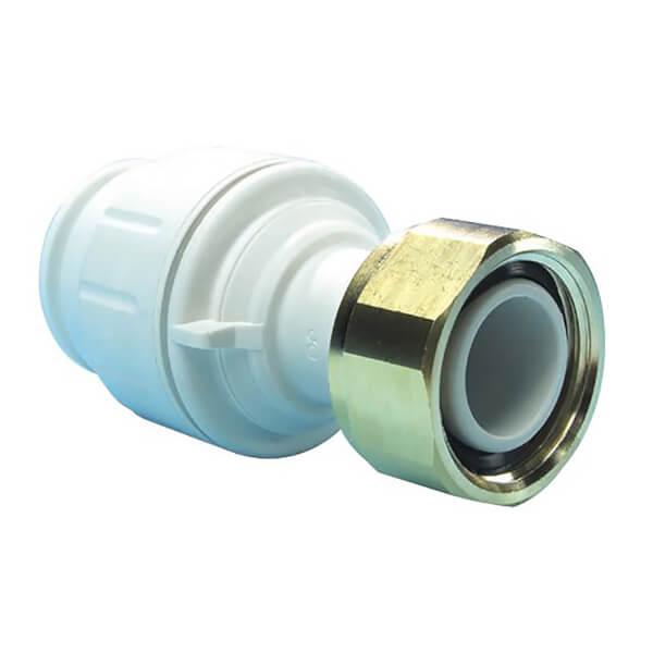 JG Speedfit Straight Tap Connector - 22mm x 3/4in