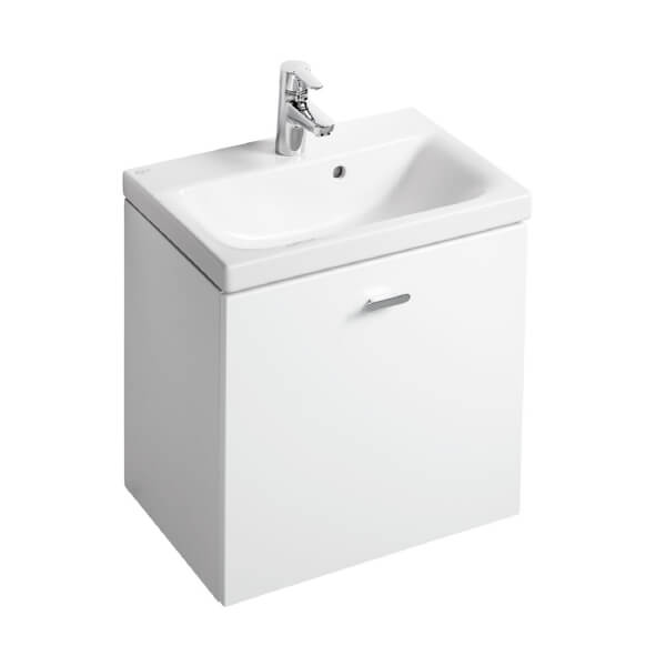Ideal Standard Senses Space Wall Hung Vanity Unit - 55cm - Gloss White