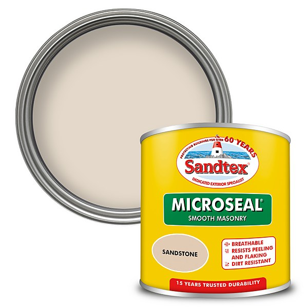 Sandtex Ultra Smooth Masonry Paint - Sandstone - 150ml