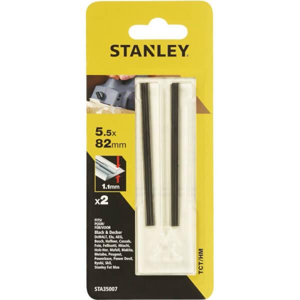 Stanley Planer Blades 82 x 55mm - STA35007-XJ