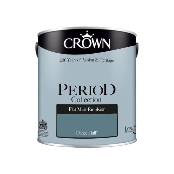 Crown Period Collection Dance Hall Flat Matt Paint - 2.5L