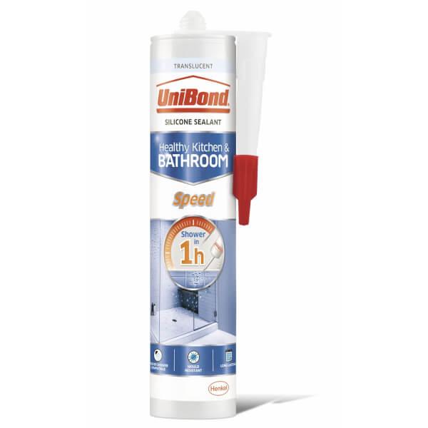 UniBond Sealant Speed Cartridge Translucent 291g
