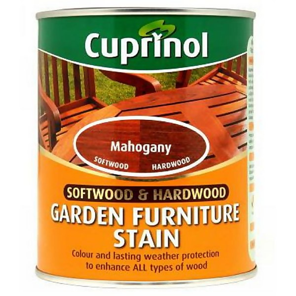 Cuprinol Hardwood Garden Furniture Protector - Mahogany - 750ml