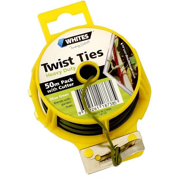 Whites Heavy Duty Twist Tie