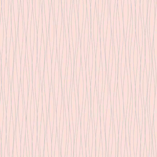 Fine Decor Sparkle Linear Stripe Pink Wallpaper