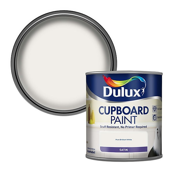 Dulux Realife Pure Brilliant White - Cupboard Paint - 600ml