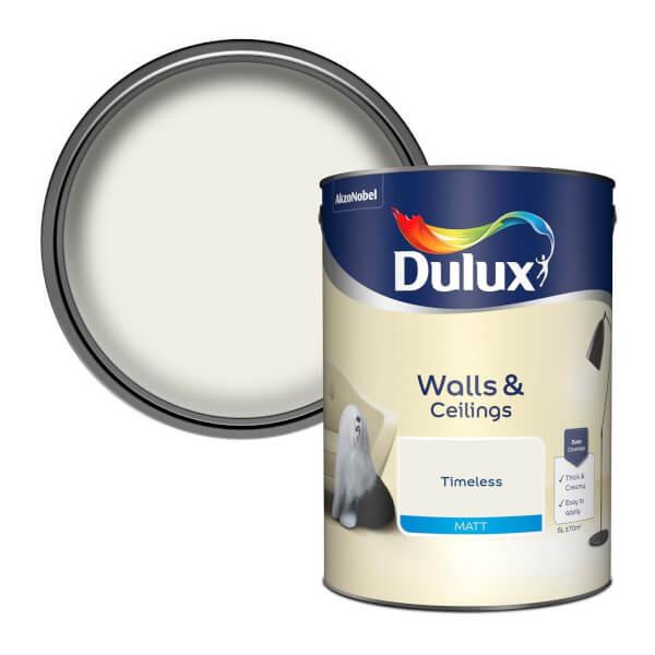 Dulux Timeless - Matt Emulsion Paint - 5L