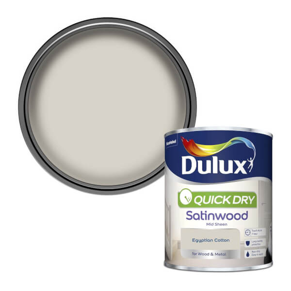Dulux Egyptian Cotton - Quick Dry Satinwood - 750ml
