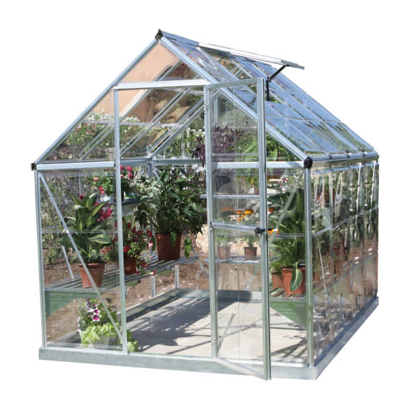 Palram Harmony Silver Greenhouse - 6 x 14ft