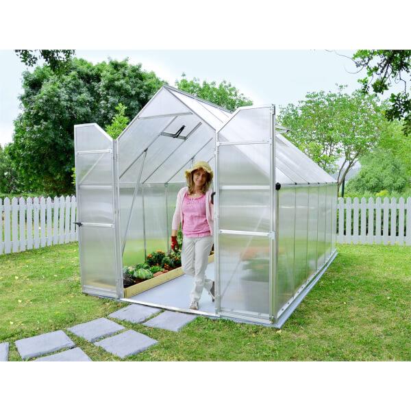 Palram Essence Silver Greenhouse - 8 x 12ft