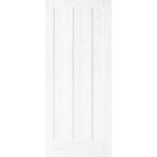 Aston 3 Panel Primed Solid Internal Door - 610mm Wide