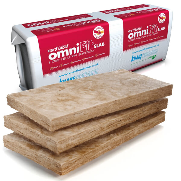 Knauf Earthwool Omnifit Slab - 100mm