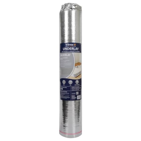 Vitrex Silverlay Flooring Underlay - 10 sqm