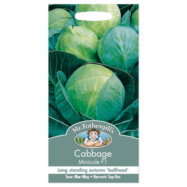Mr. Fothergill's Cabbage Minicole F1 Seeds