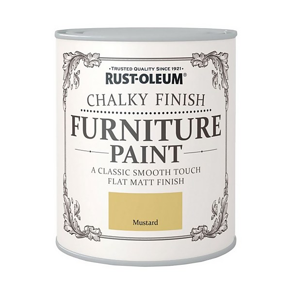 Rust-Oleum Chalky Furniture Paint - Mustard - 125ml