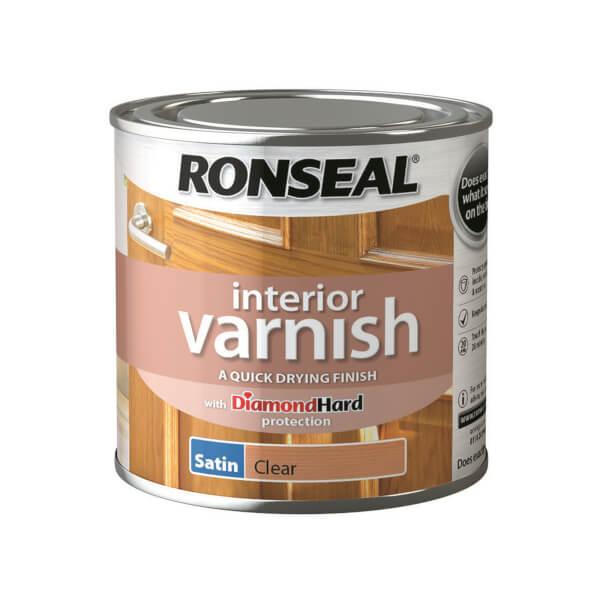 Ronseal Interior Varnish Satin - 250ml