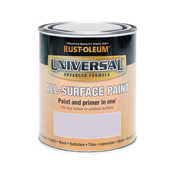 Rust-Oleum Universal All Surface Paint Satin Misty Grey 750ml