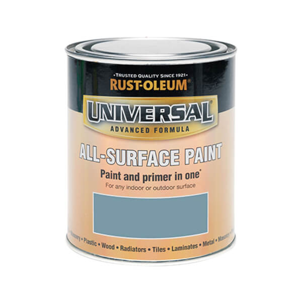 Rust-Oleum Universal All Surface Paint Satin Thyme 750ml
