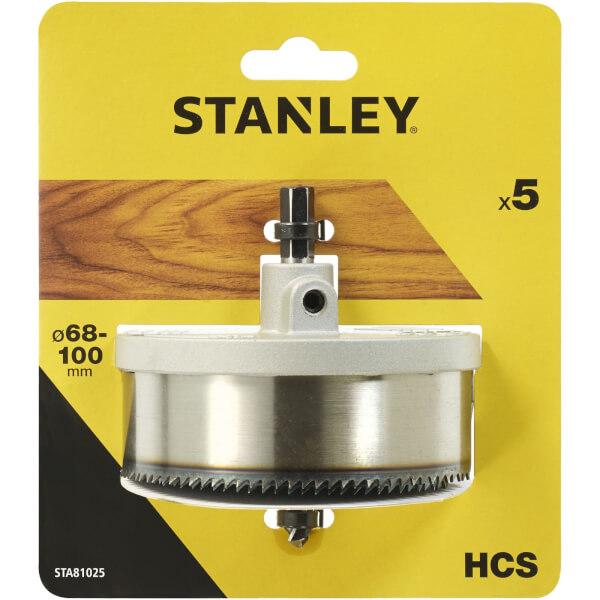 Stanley Holesaw Set 5Pc (68-100mm) - STA81025-XJ