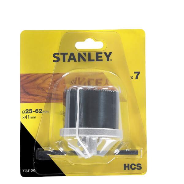 Stanley Holesaw Set 7Pc (25-62mm) - STA81005-XJ