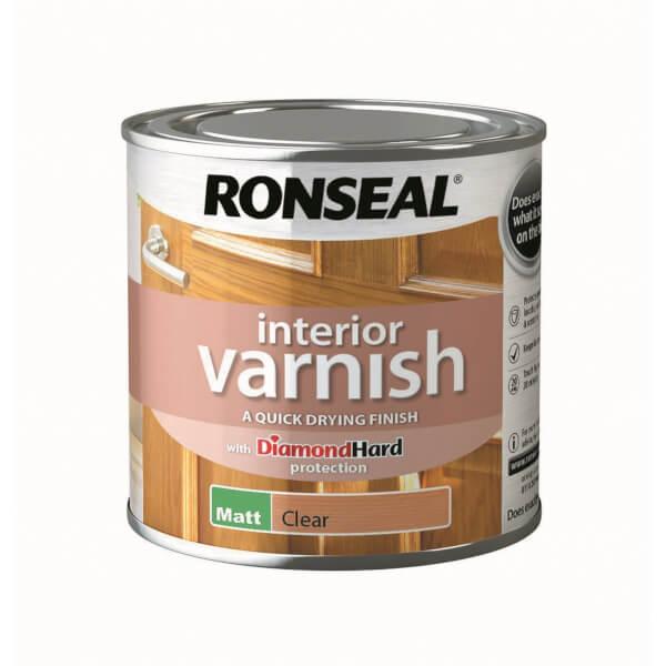 Ronseal Interior Varnish Matt - 250ml
