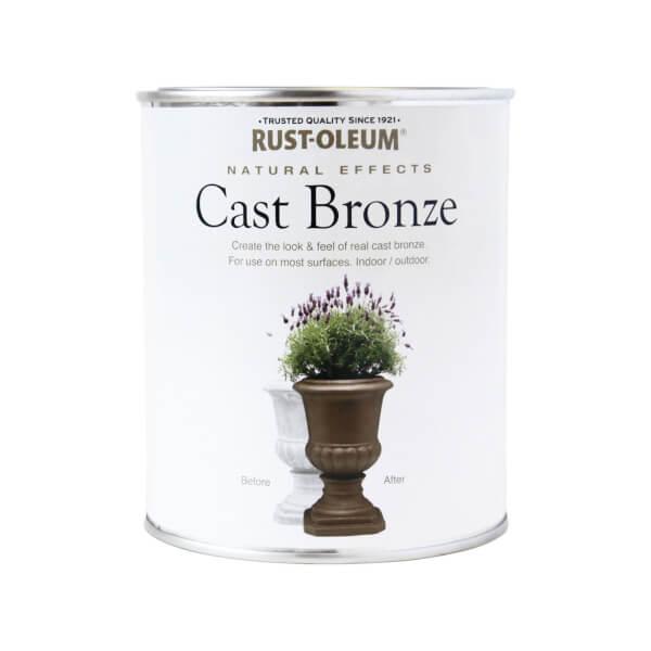Rust-Oleum Cast Bronze - Natural Effects - 750ml