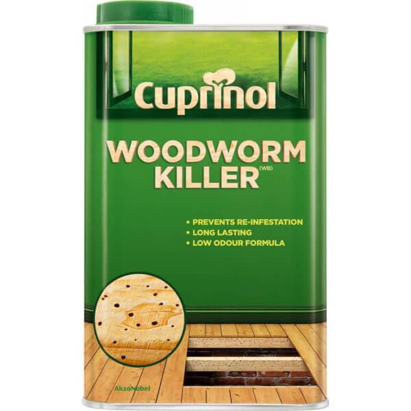 Cuprinol Woodworm Killer 1L