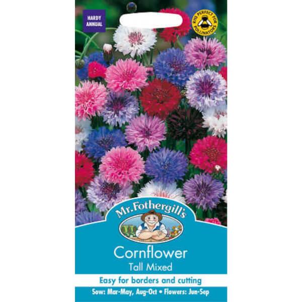 Cornflower Tall Mixed (Centaurea Cyanus) Seeds