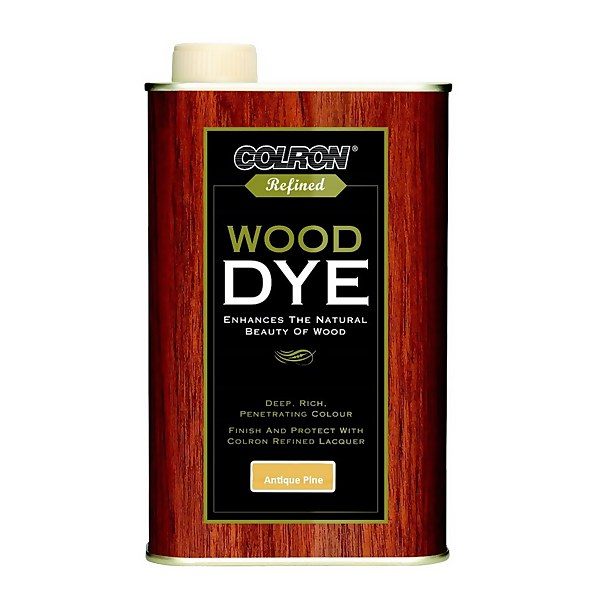 Colron Refined Wood Dye Antique Pine - 250ml