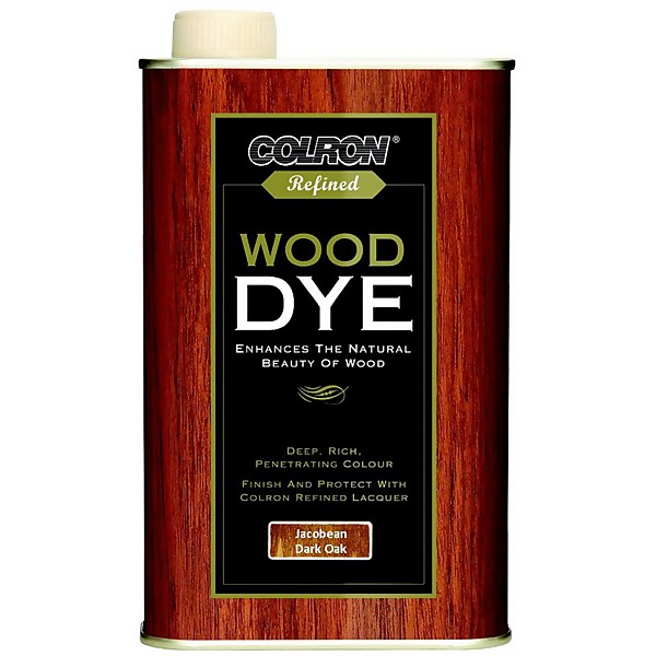 Colron Refined Wood Dye Jacobean Dark Oak - 250ml