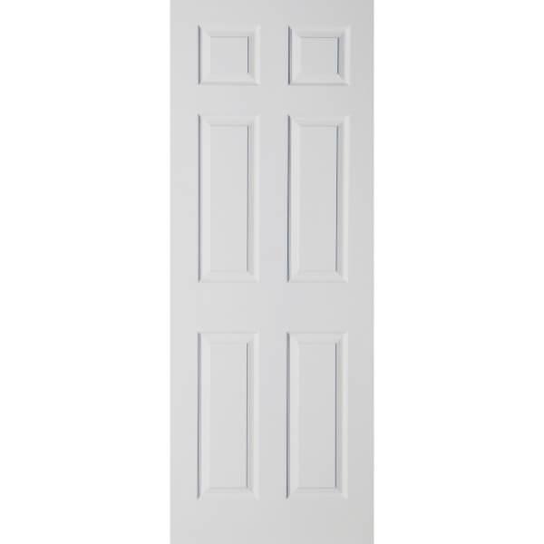 Colonial 6 Panel White Primed Internal Door - 686mm Wide