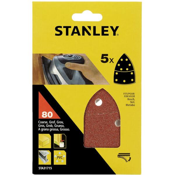 Stanley Detail Sander Sheets 80G - STA31715-XJ