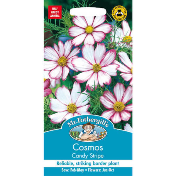 Mr. Fothergill's Cosmos Candy Stripe Seeds