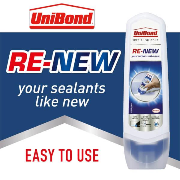 UniBond Sealant Re-New White 100ml