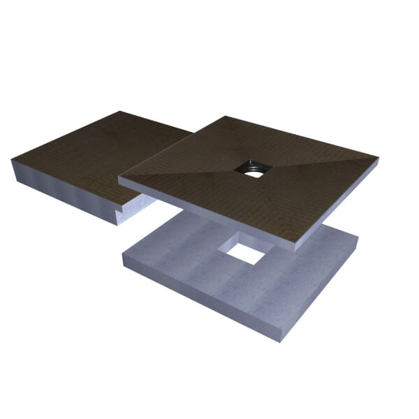 Universal Sub Element for 100 x 100cm Wet Room Tray