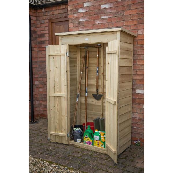 Forest (Installation Included) Wooden Pentagonal Tall Garden Store