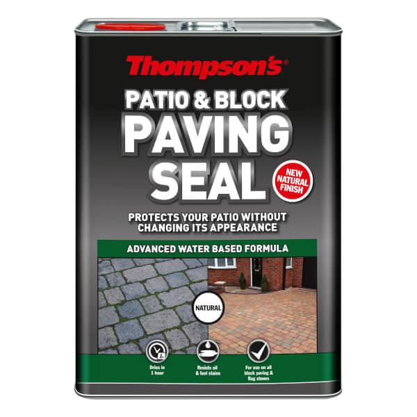 Thompsons Patio & Block Paving Seal Natural - 5L