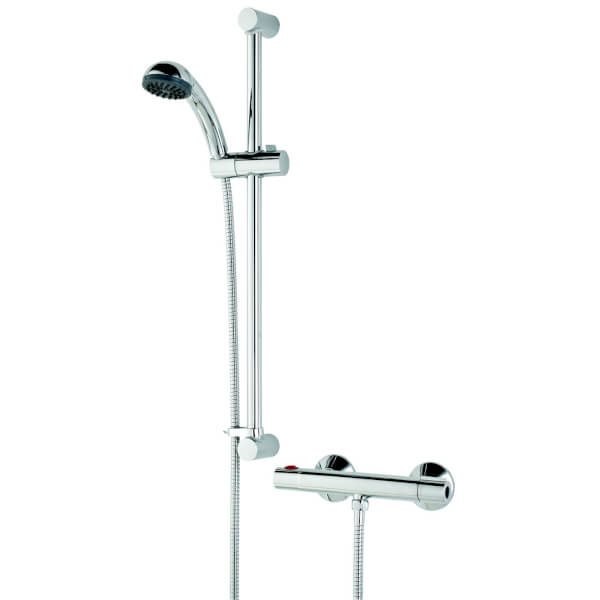 Bristan Zing Cool Touch Thermostatic Mixer Shower with Kit