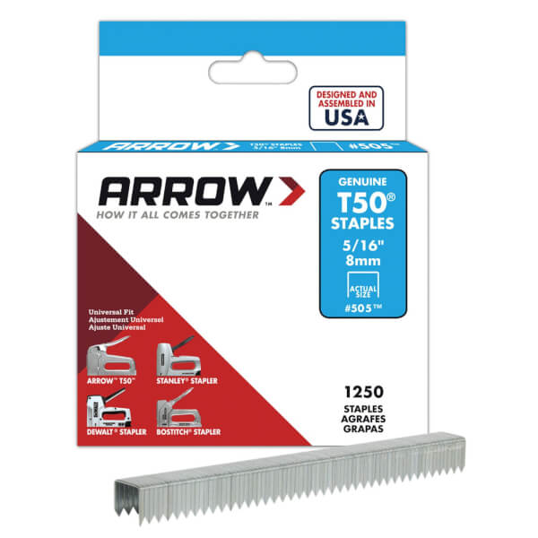 Arrow T50 8mm Staples