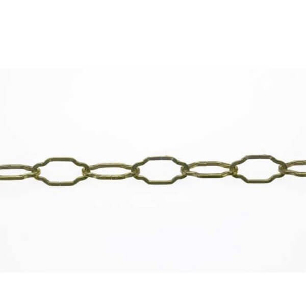 Per Metre Gothic Chain - Nickel Plated - 2.3mm x 1m