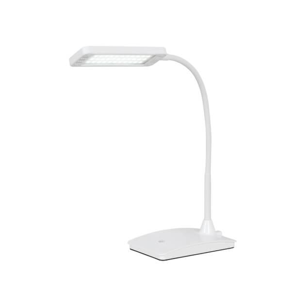 Arlec Aren 7W LED Desk Lamp - White