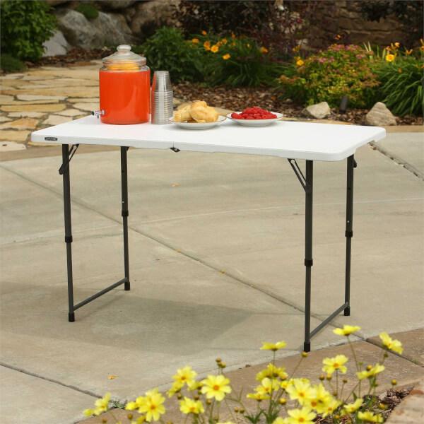 Lifetime Seasonal Folding Party Trestle Table - 1.22m / 4ft