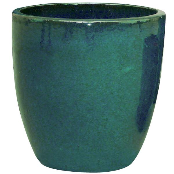 Chiswick Egg Planter - Dark Green