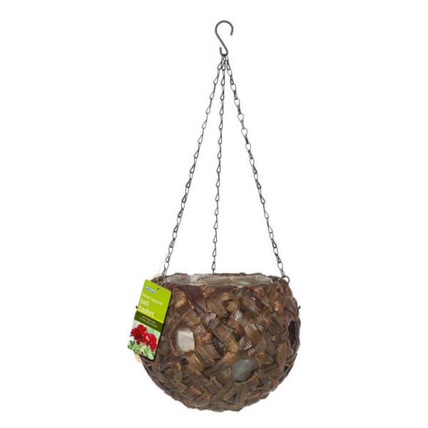 30cm Water Hyacinth Ball Basket