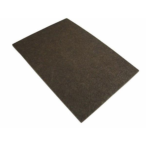 Felt Sheet Black Cut to Size - 150 x 110mm - 2 Pack