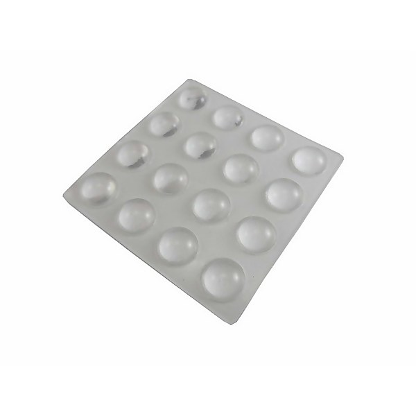 Protective Pad Clear 10mm - 16 Pack