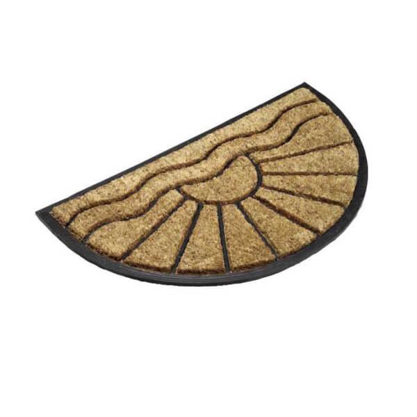 Half Moon Coir Doormat 40x70cm